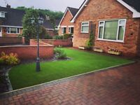 Supplying and fitting artificial grass