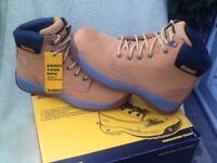 Dewalt steel toe capped work boots size 7 and 12