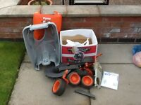 Box full of Flymo Mower parts