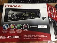 Pioneer DEH X5800BT CD receiver