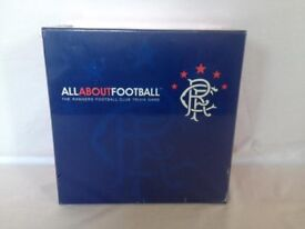 All About Football Rangers Football Club Trivia Board Game NEW & SEALED Fan