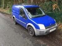 2005 TRANSIT CONNECT 1.8 DIESEL RECENT MOT BARGAIN PRICE OF £895 ONO