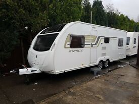Sprite Quattro FB 6 berth caravan 2014 FIXED BED, VGC Great Family Caravan !!