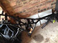 125 Motorcycle Frame