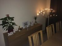 Ikea Dining Table, Sideboard & 6 Chairs. Great condition.