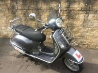 Vespa GT 125cc with accessories with NEW MOT!