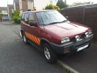 breaking for parts NISSAN TERRANO II 2.7 TURBO DIESEL SWB
