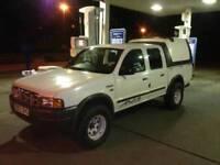 Ford ranger 4x4 pickup turbo diesel