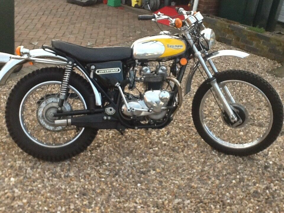 TRIUMPH TROPHY TRAIL/ADVENTURER TR5 500cc