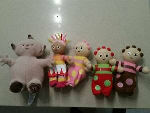 Night Garden Toys - small set and large Upsy Daisies Harrison Gungahlin Area Preview