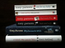 6 Tony Parsons Books - Ideal Christmas Presents