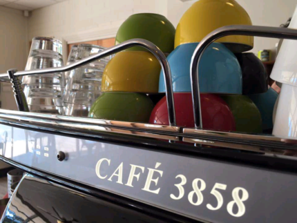 Fully licensed cafe that seats 104 people located in heyfield,vic