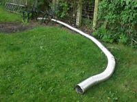 Stove flue liner