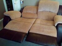 MAKE AN OFFER...!! Good As New 2 Seater Recliner sofa..