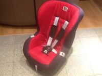 Britax Eclipse group 1 car seat for9kg upto 18kg(upto 4yrs)-only used for 2weeks-excellent condition