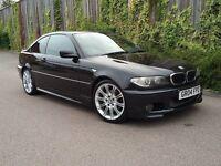 2004 BMW 320cd Sport Coupe - Auto - Diesel - Leather - Nav - BIG SPEC