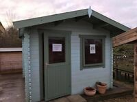 Ex Display Garden Shed Log Cabin Summerhouse for Sale up to 50% off RRP