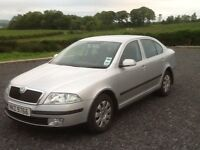 2005 SKODA OCTAVIA AMBIENTE 1.9 TDI 105BHP SILVER 1 YEARS MOT GREAT DRIVER 125k 4/EWINDOWS