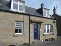 Charming set of 2/3 bedroom semi-detached cottages in Berwickshire available NOW