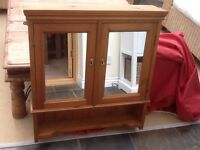 Pine bathroom cabinet - price reduced
