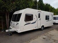 Bailey Olympus 530/4 4 Berth caravan 2013, FIXED BED, MOTOR MOVER, Bargain