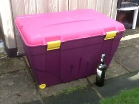 Very Large Plastic Storage Box