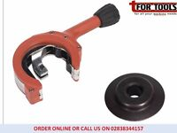 Sealey VS16371 Exhaust Pipe Cutter Ratcheting Cuts Stainless Steel + Spare Wheel