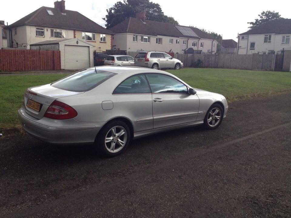 mercedes clk 270 cdi auto 2003 avantgarde in scunthorpe lincolnshire gumtree. Black Bedroom Furniture Sets. Home Design Ideas