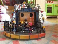 Playmobil City Life Pop Stars stage: 5602, 5604 & 5605