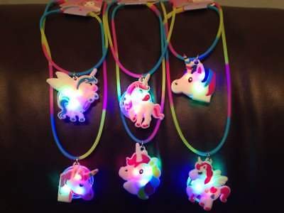9 Year Old (Toys for Girls 5 6 7 8 9 10 11 12 Year Old Unicorn Necklace LED LIGHT Kids)