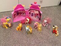 My little pony boutique plus 7 ponys