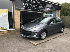 2011/11 PEUGEOT 308 AUTOMATIC 1.6 HDI GREY 5 DOOR ONLY 31k