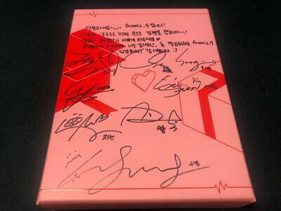 FROMIS9 - ALL MEMBER Autograph(Signed) PROMO ALBUM KPOP