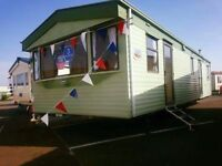 12FT 3 BED STARTER STATIC CARAVAN - FREE 2018 SITE FEES - ESSEX, CLACTON, SEAWICK AND ST OSYTH, NO1
