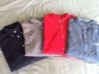 8 Mens Long Sleeved Shirts (size M)