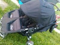 city mini jogger double pushchair rrp 400