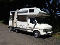 Fiat Hymer Motorhome campervan diesel 46k Miles FULL MOT