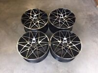 19/20 Staggered 666M Alloy Style Wheels –– E90 / E91 / E92 / F10 / E46 / Z4 / F30 5x120