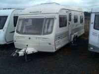 2003 AVONDALE landranger 6400 twin axel 5 berth with fitted mover