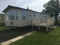 Primrose valley 8 berth caravan for hire