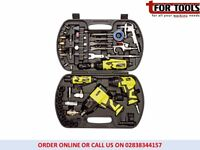 Draper 83431 Storm Force 68 Piece Air Tool Kit Ratchet, Wrench, Die Grinder