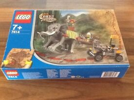 Lego Orient Expedition no 7414 boxed as new very rare