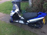 jm star 50cc moped full mot for sale £325