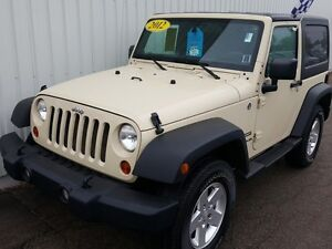 2012 Jeep Wrangler Sport SPORT 2 DOOR 4X4 WITH MANUAL TRANSMI...