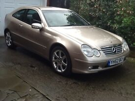 Mercedes C180k Sports Coupe Manual