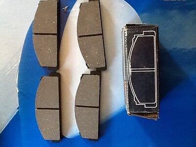 pasticche pastiglie freni anteriori auto Fiat 850 SPORT-COUPE-SPYDER