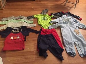 OshKosh & Carters Boys Clothes (3-6 & 6-12 months)