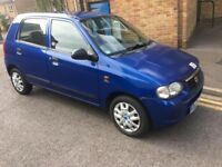 SUZUKI ALTO 1.0 PETROL 5 DOOR ECONOMICAL TO RUN CHEAP TO INSUR MOT 29/01/2017 TAX IS £30 FOR 1 YEAR