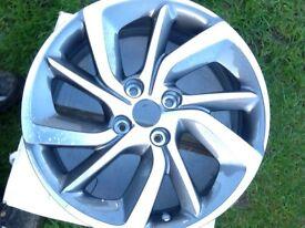Alloy wheel for a Citroen DS 3