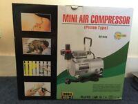 Brand New Mini Portable Oil less Air Compressor - Piston Type